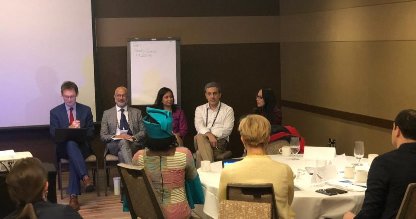 Panel at CoST workshop during the OGP Summit 2019