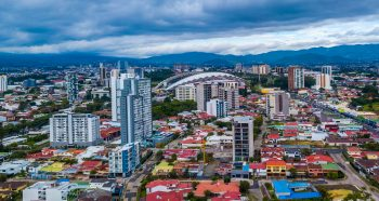 View of San Jose, Costa Rica